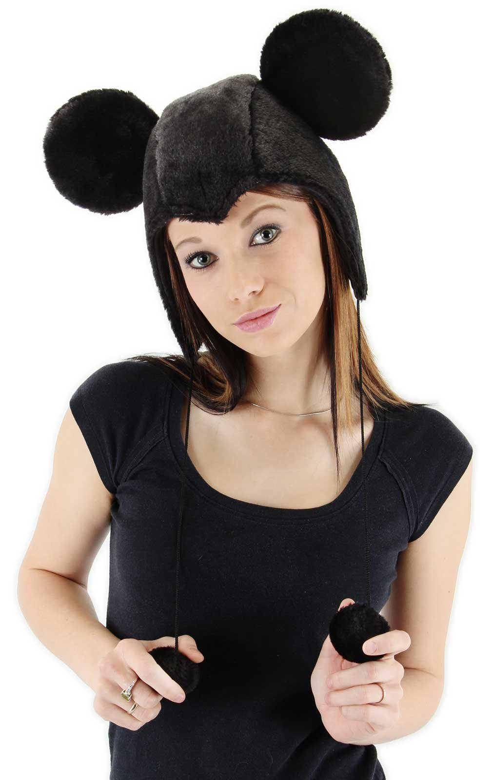 Mickey Mouse Hoodie Adult Hat