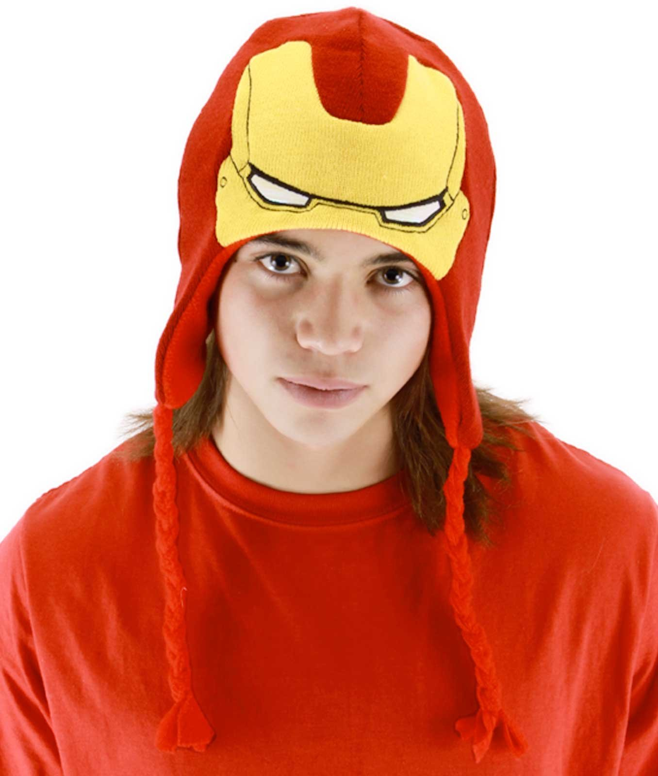 Iron Man Laplander Child Hat
