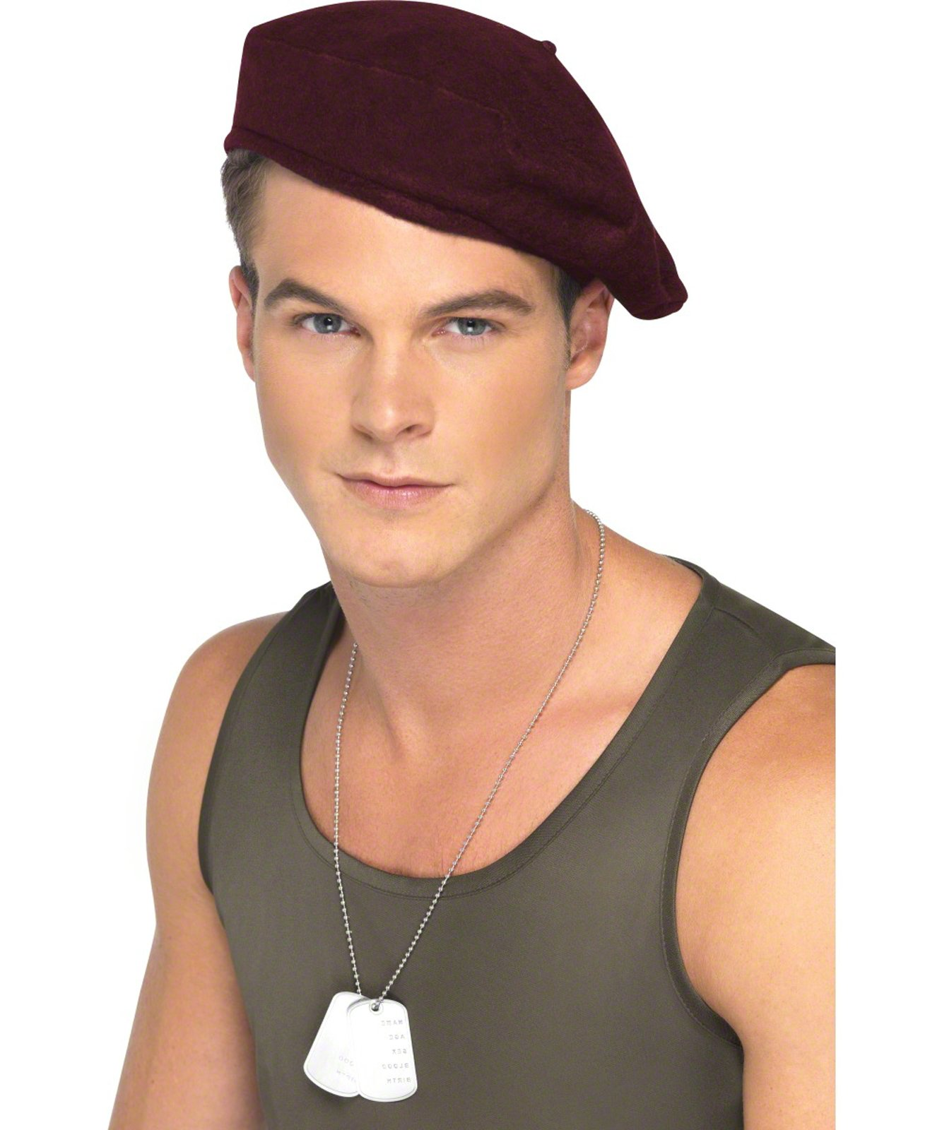 Soldiers Red Beret Adult Hat