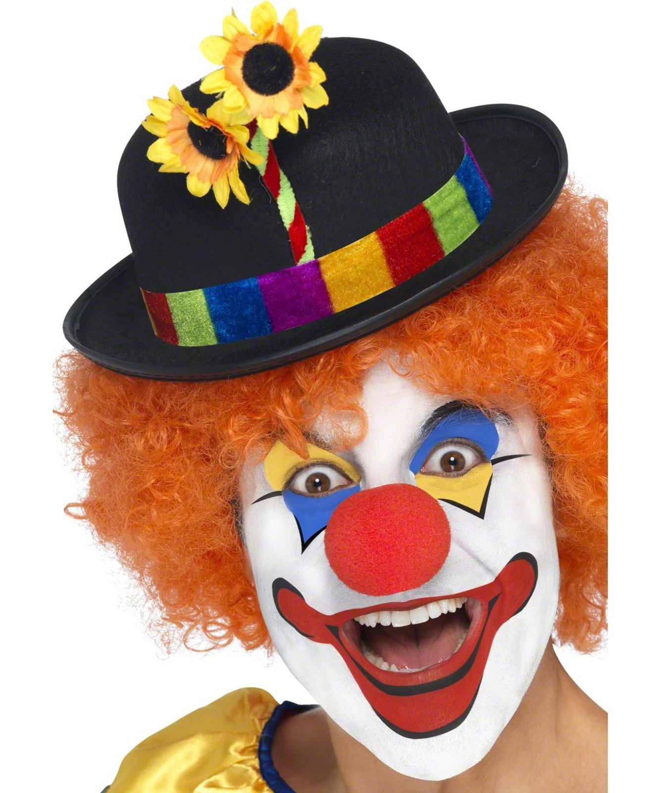 Clown Bowler Adult Hat