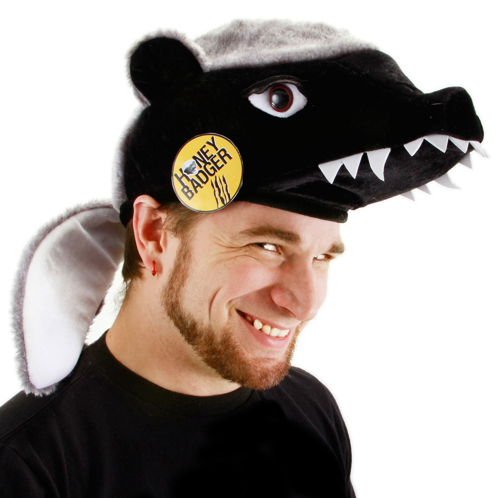 Honey Badger Hat (Adult)