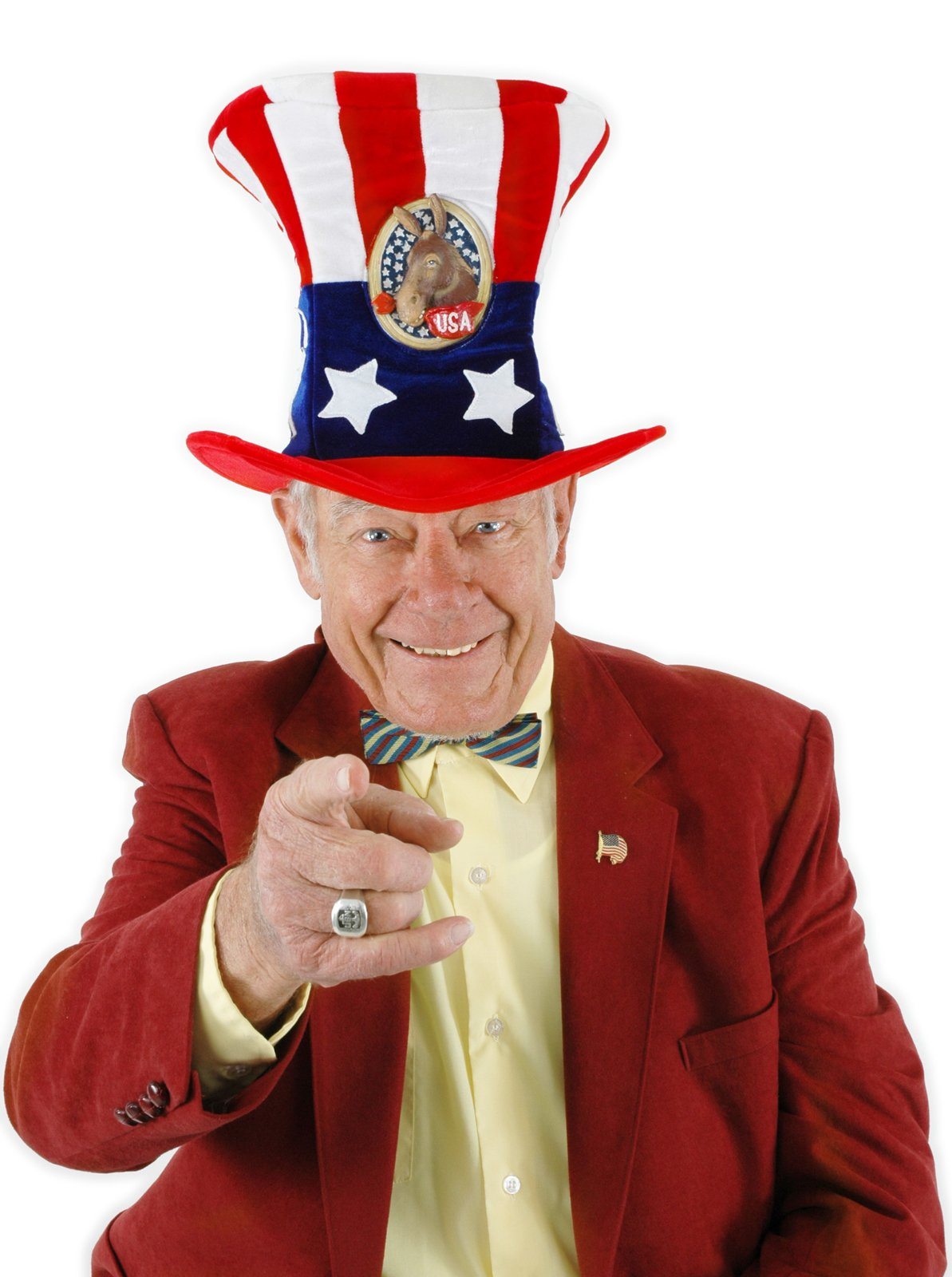 USA Uncle Sam Democrat Hat