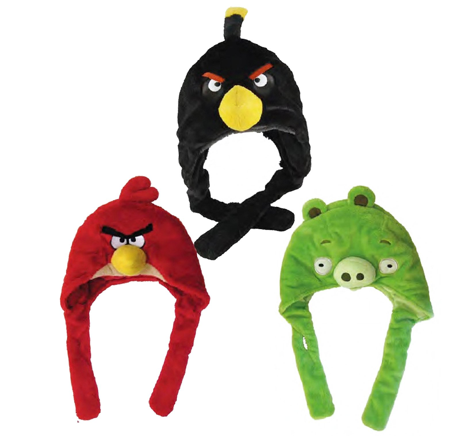 Angry Birds Plush Hat Child