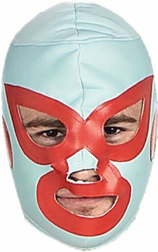 Nacho Libre Deluxe Mask Adult