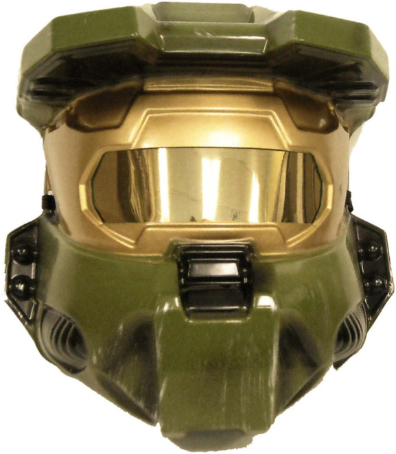 Halo 3 Master Chief 1/2 Mask Adult