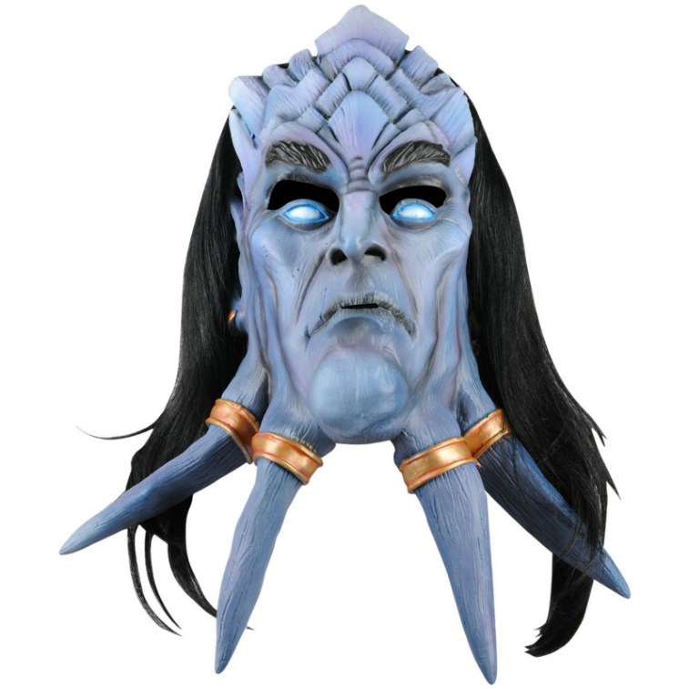 World of Warcraft Draenei Deluxe Latex Mask Adult