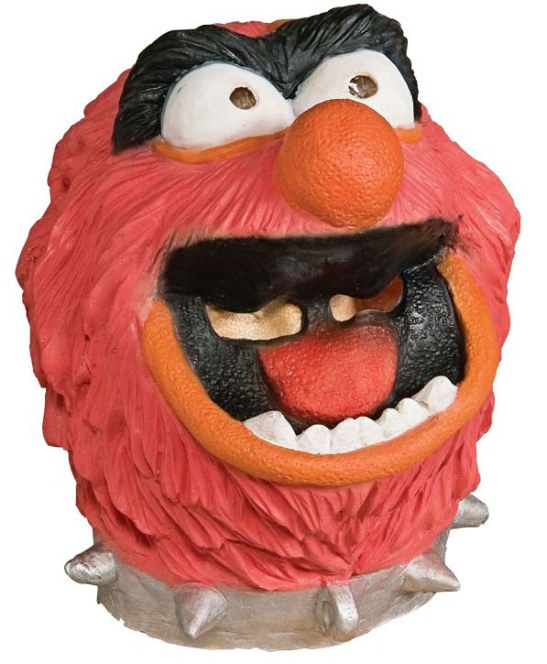 The Muppets Animal Deluxe Overhead Latex Mask Adult