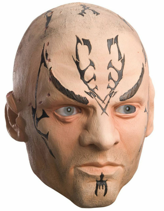 Star Trek Movie 2009 Nero Deluxe Latex Mask Adult
