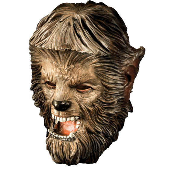 The Wolfman 2009 Wolfman Deluxe Latex Mask Adult