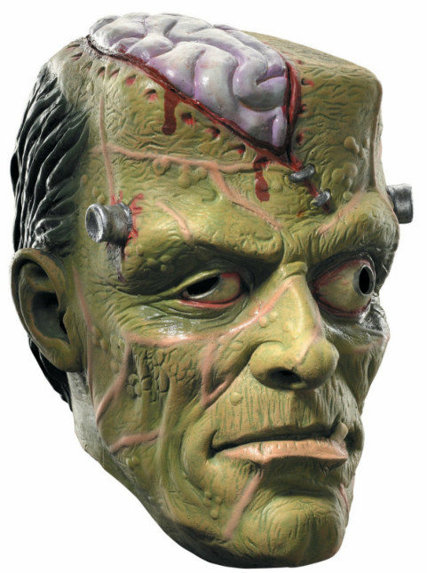 Squishy Frankenstein Adult Mask