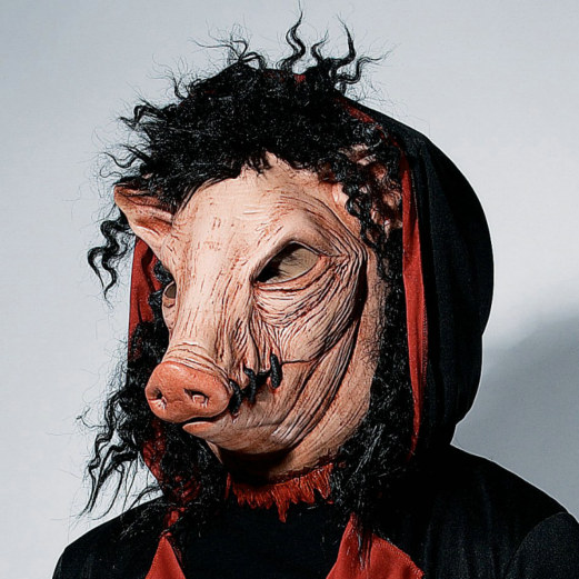 Economy Pig Adult Mask - Click Image to Close