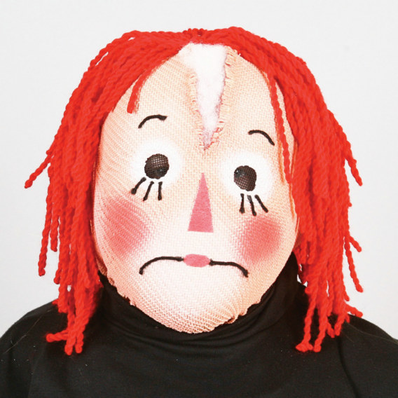 Rag Doll Adult Mask
