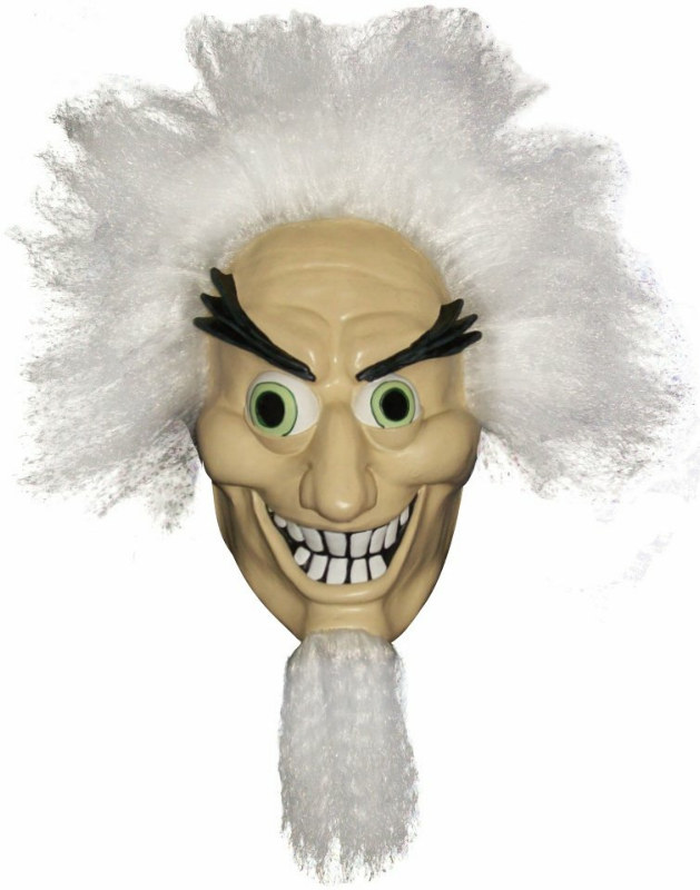 Mad Scientist Mask Adult