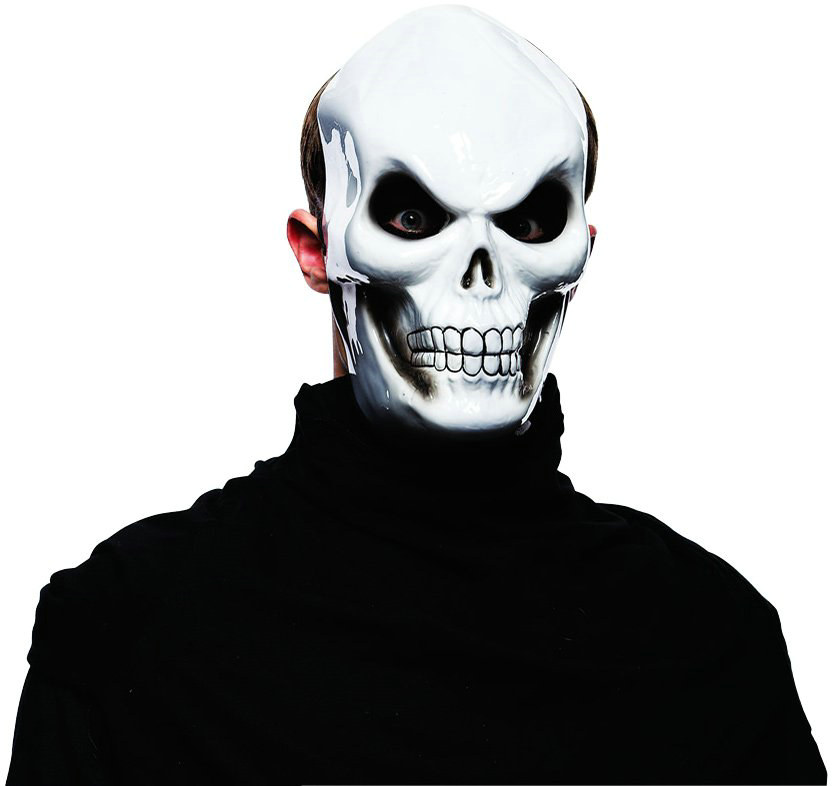 White Skull Mask Adult