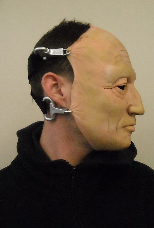 Saw-Jigsaw (Tobin Bell) Mask Adult