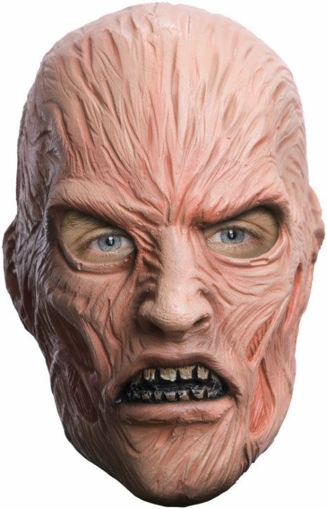 A Nightmare On Elm Street - Freddy Krueger Adult Mask