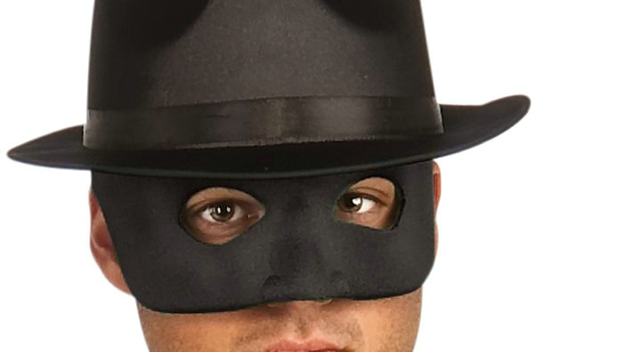 Green Hornet Adult Mask - Click Image to Close