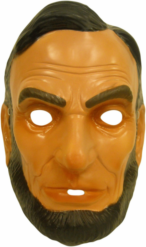 Abraham Lincoln Plastic Adult Mask