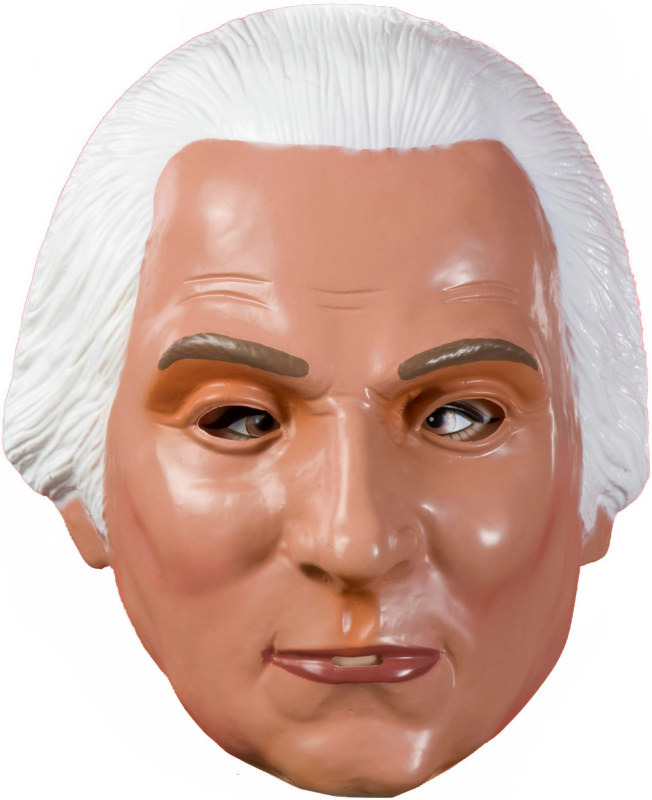 George Washington Plastic Adult Mask