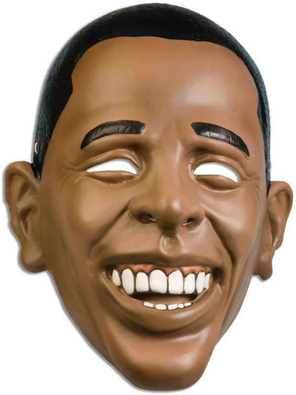Barack Obama Plastic Adult Mask