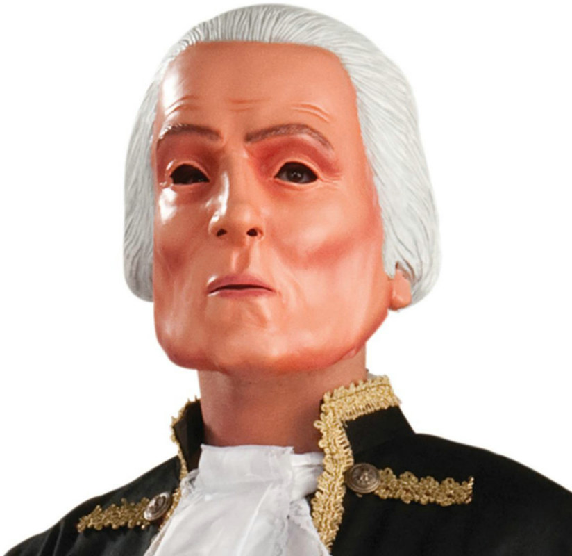 George Washington Latex Adult Mask