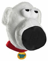 Family Guy - Brian Fabric Headpiece Adult