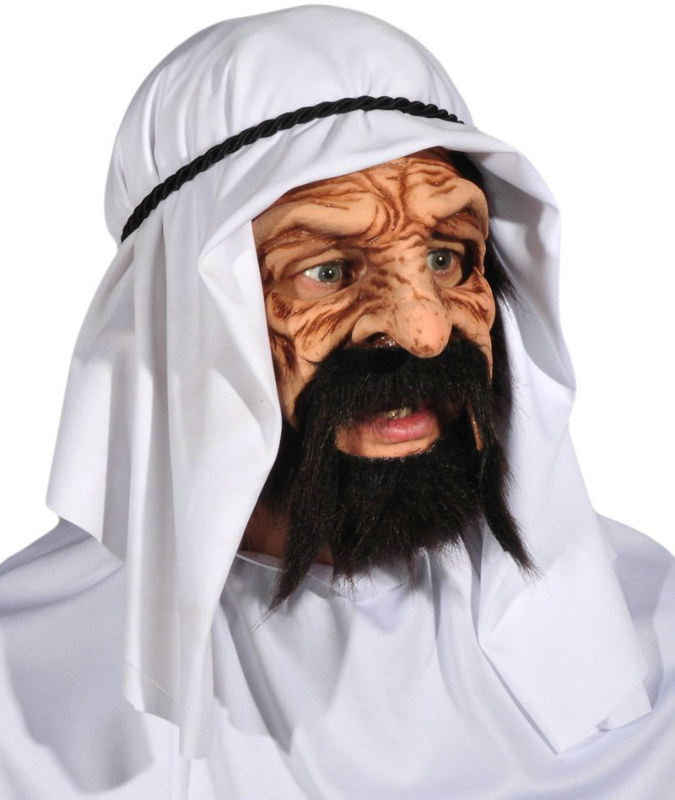 Oil King Adult Mask