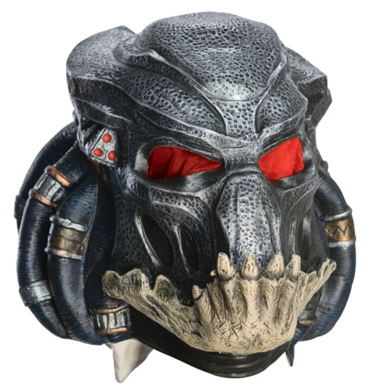 Predator 2010 3/4 Adult Mask - Click Image to Close