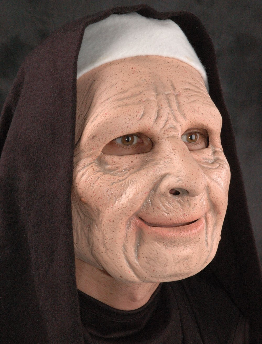 Nun on the Run Adult Mask