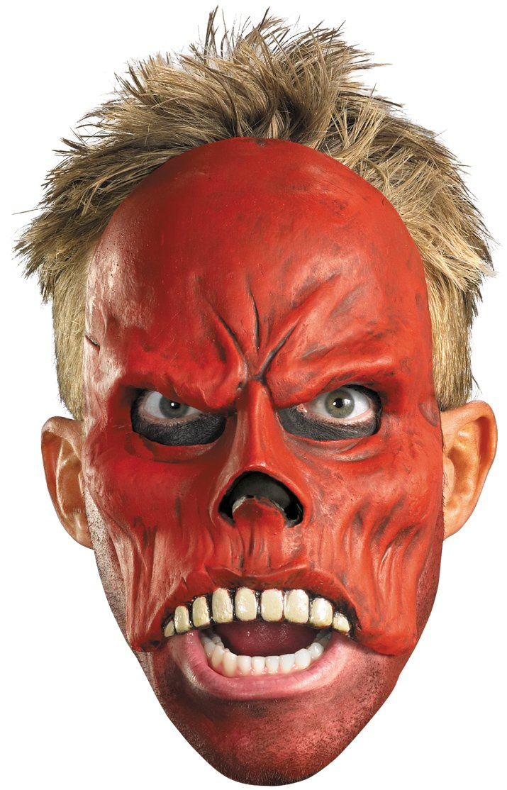 Captain America Movie - Red Skull 1/4 Mask (Adult)