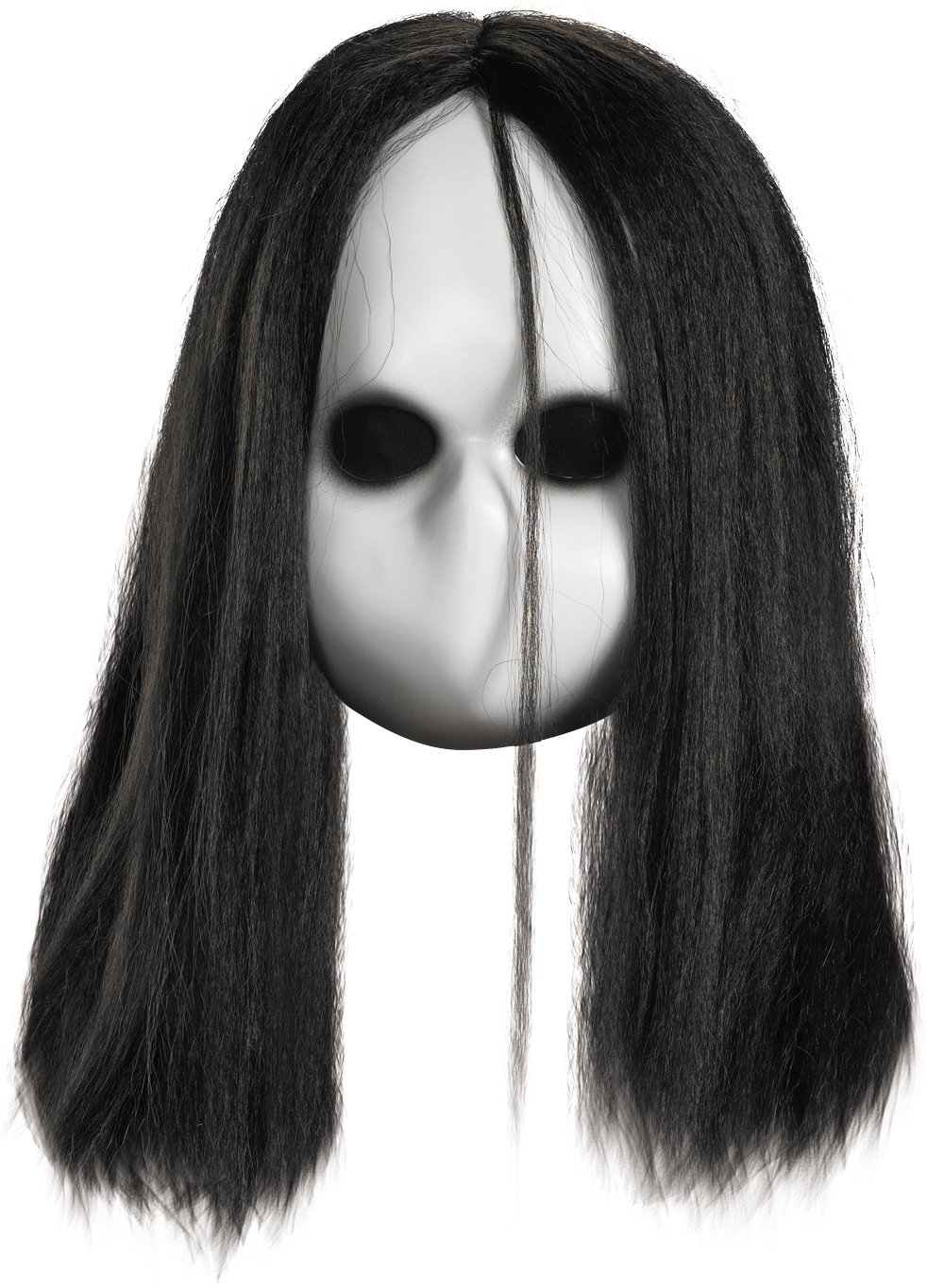 Blank Black Eyes Doll Mask (Adult)