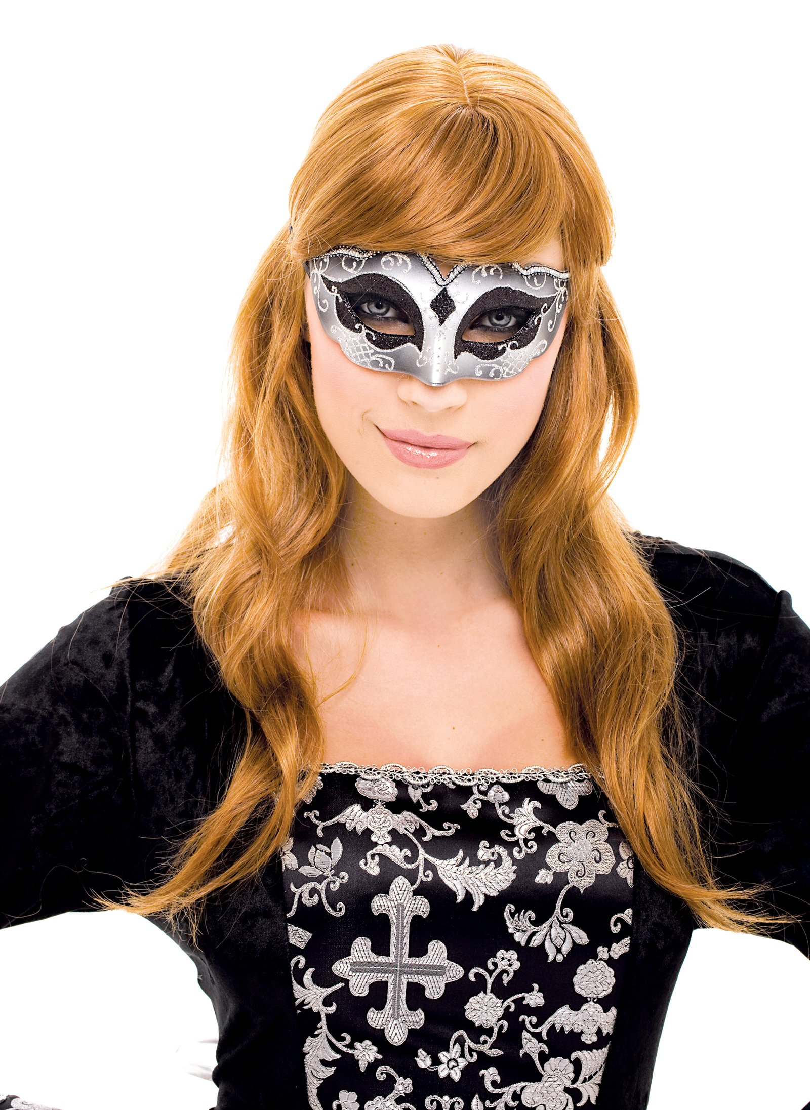 Masquerade Black Mask Adult