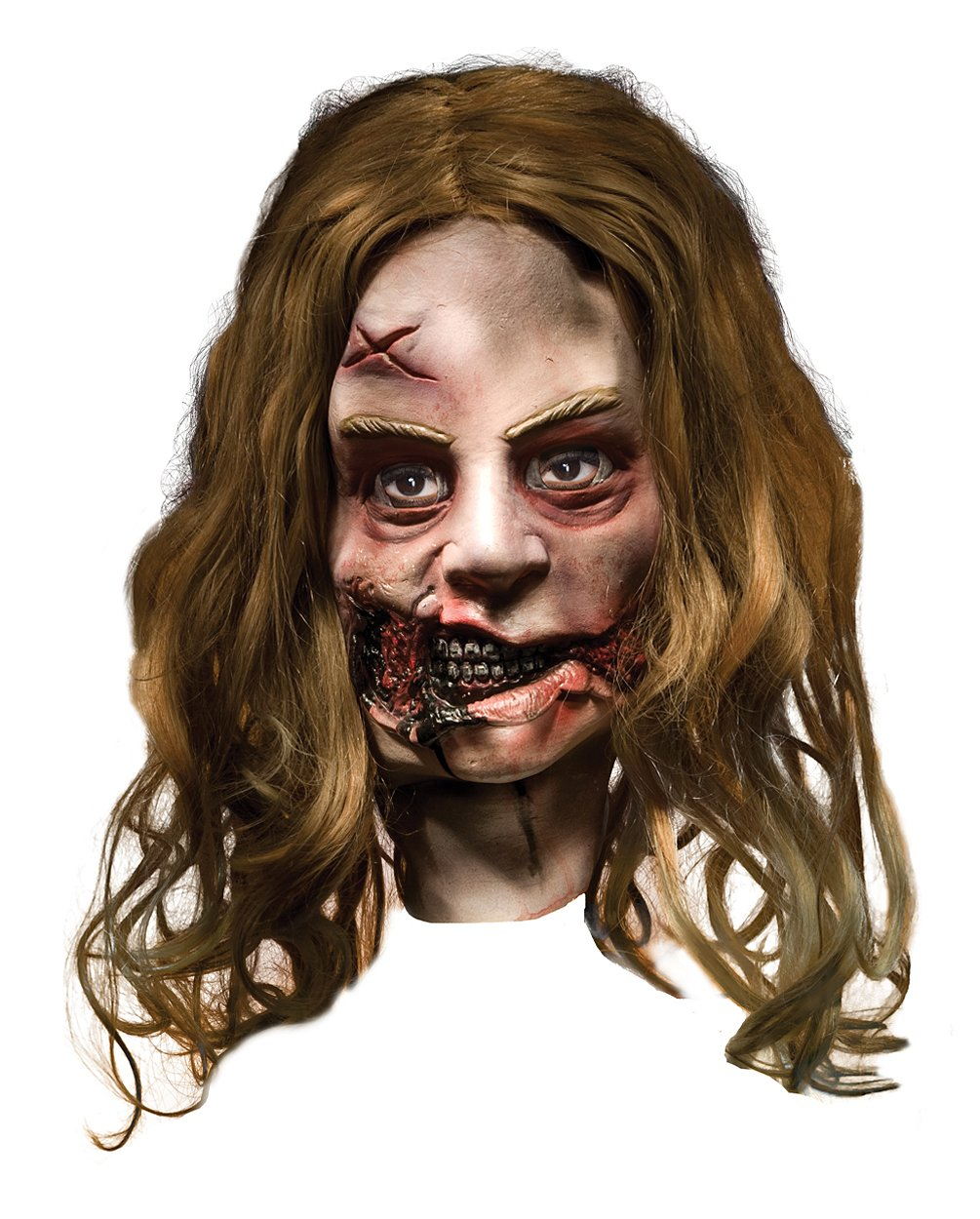 The Walking Dead - Little Girl Zombie Deluxe Mask (Adult)
