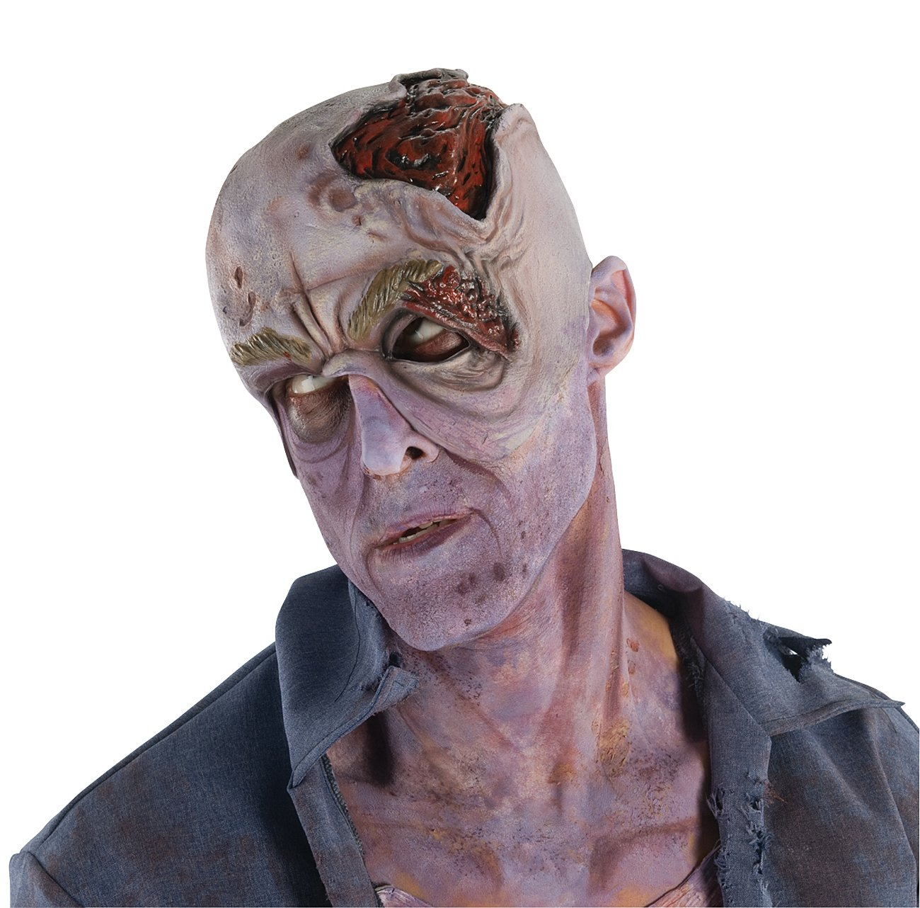 The Walking Dead - Decayed Head Headpiece (Adult)