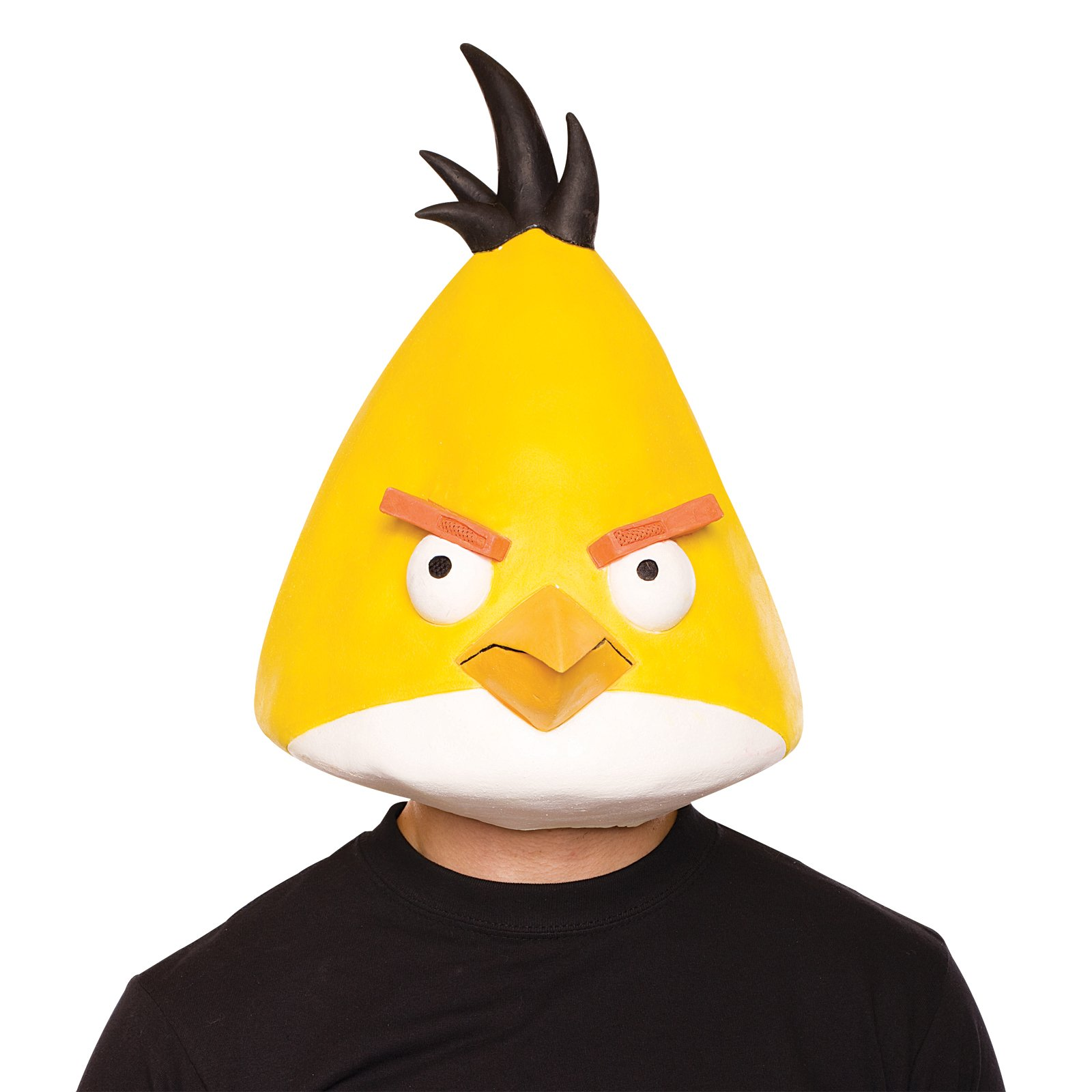 Angry Birds Yellow Bird Latex Mask Adult
