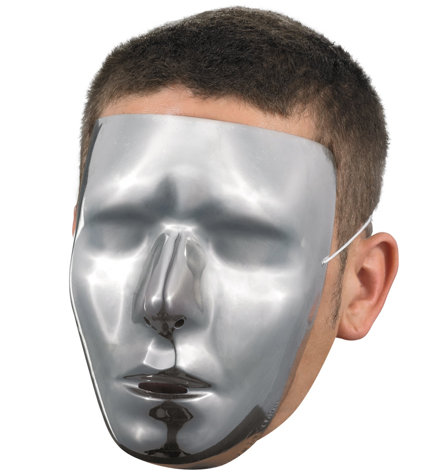 Blank Face Adult Mask
