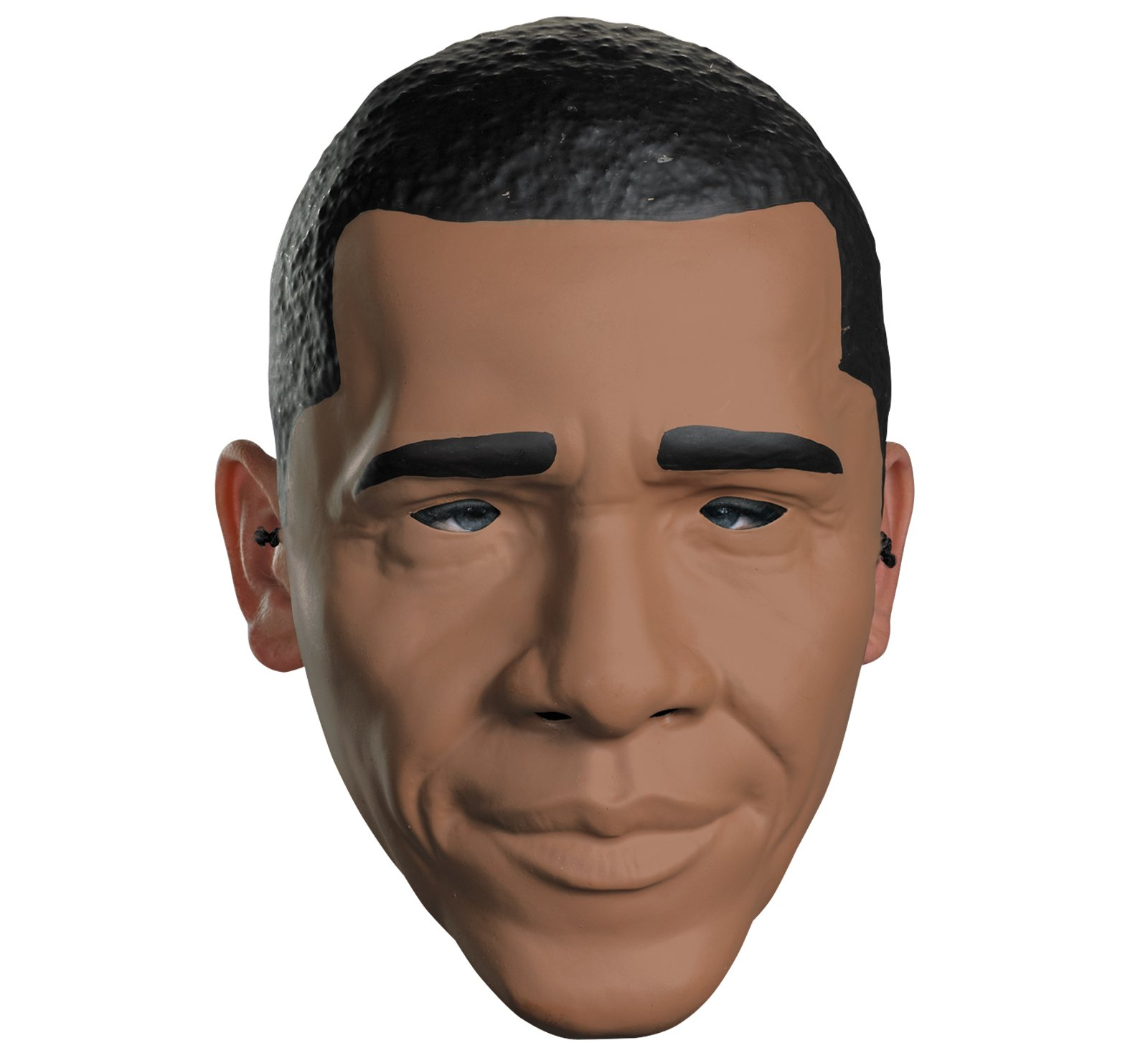 barack obama adult half mask [costume masks, halloween cosutme] - in