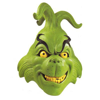 Dr. Seuss Grinch Mask