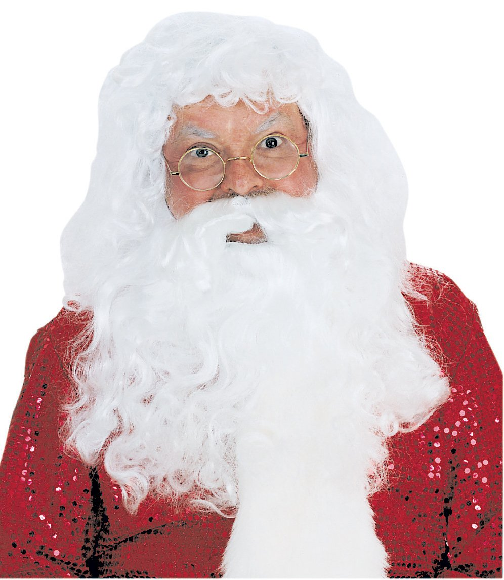 Santa Wig and Beard-Quality Synthetic