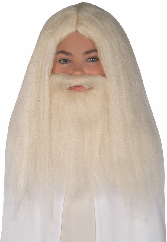 Gandalf Wig & Beard - Lord of the Rings