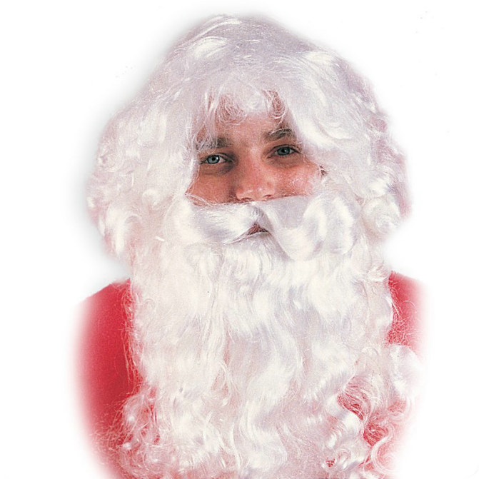Kris Kringle Wig & Beard