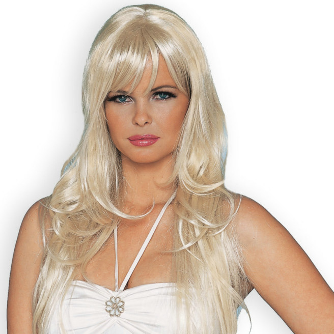 Dreamgirl Deluxe Blonde Wig Adult