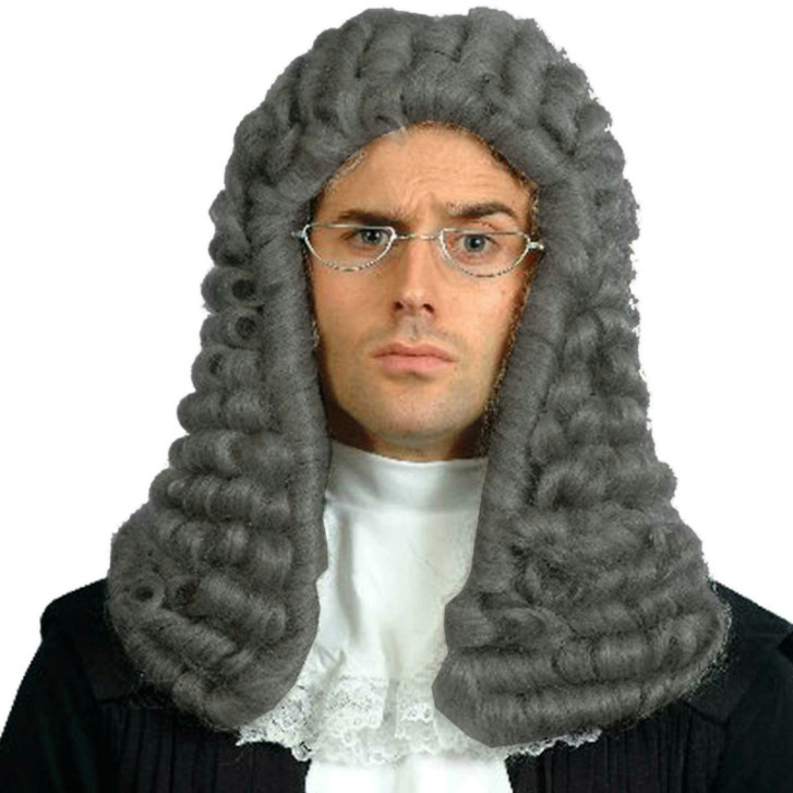 Judges Wig Grey Adult