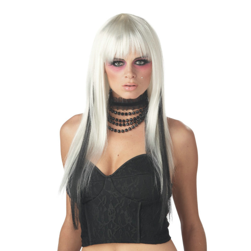 Chopstix (White/Black) Wig