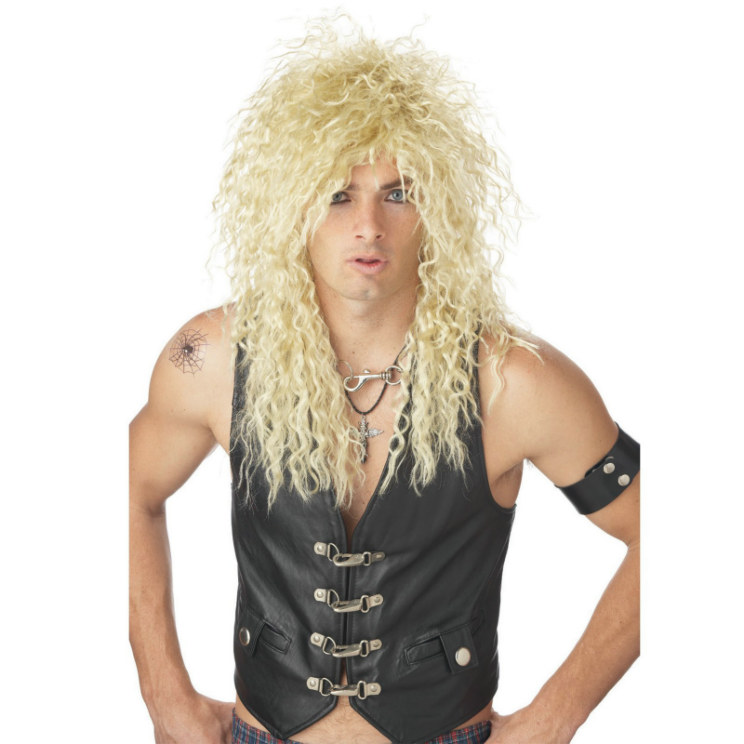 Headbanger (Blonde) Wig