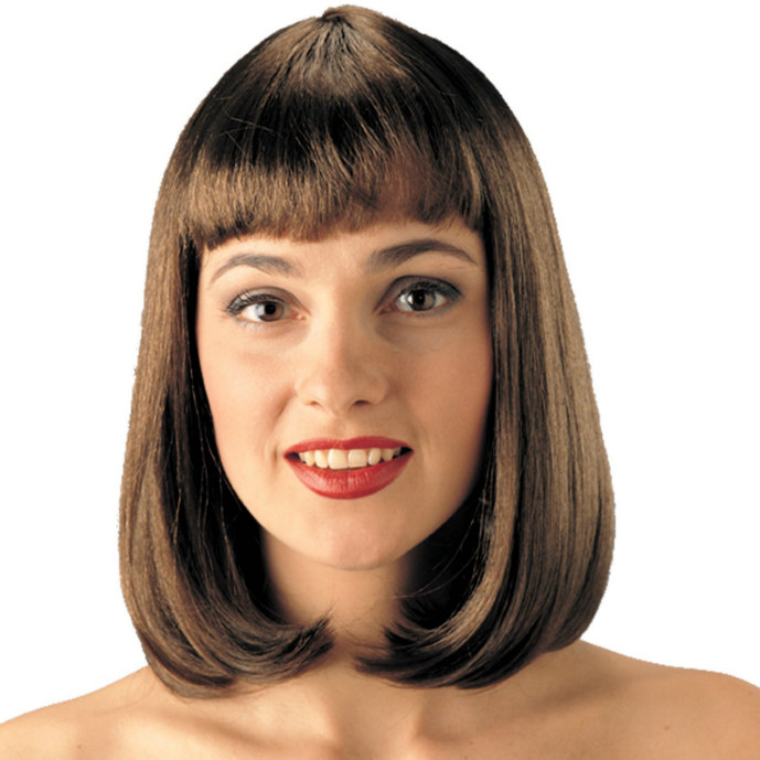 Peggy Sue 50's Wig (Brown)