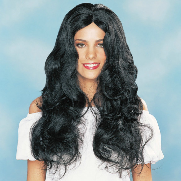 Sultry Deluxe Adult Wig (Black)