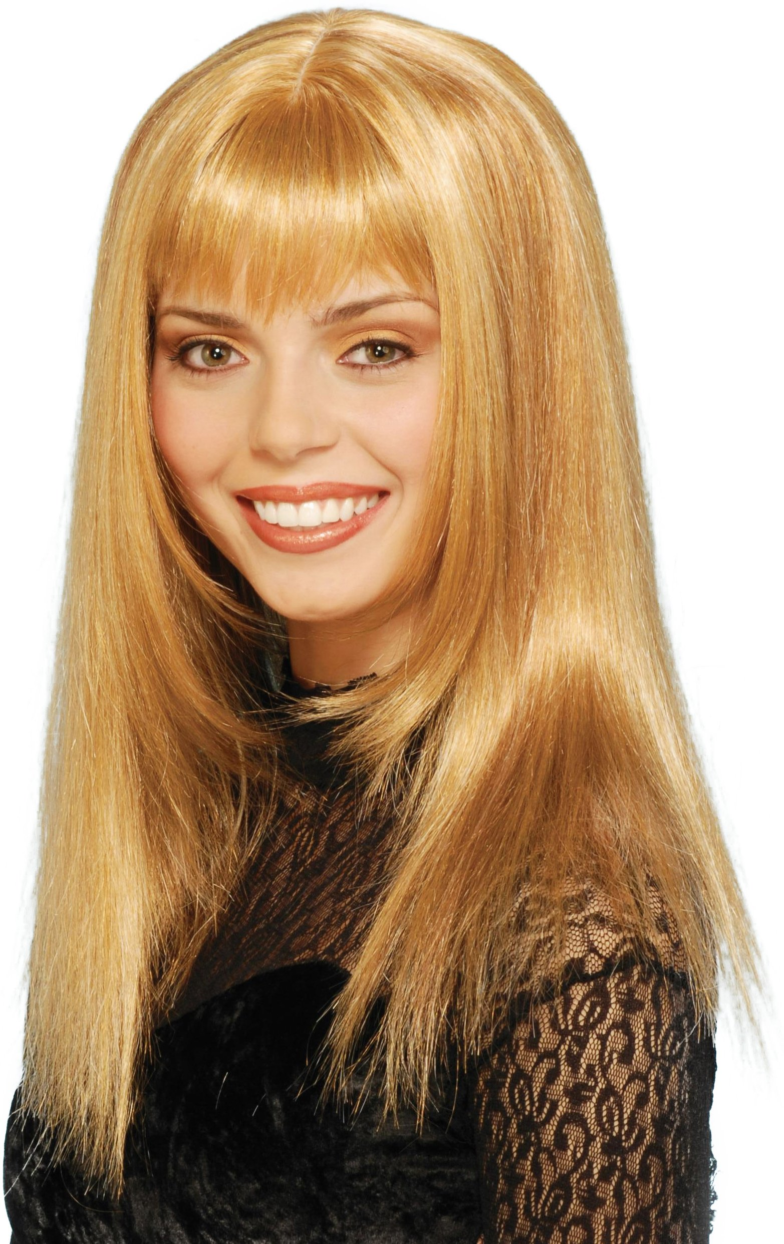 Honey Blonde Adult Wig