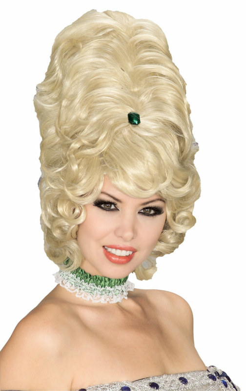 Beehive Wig Blonde - Click Image to Close