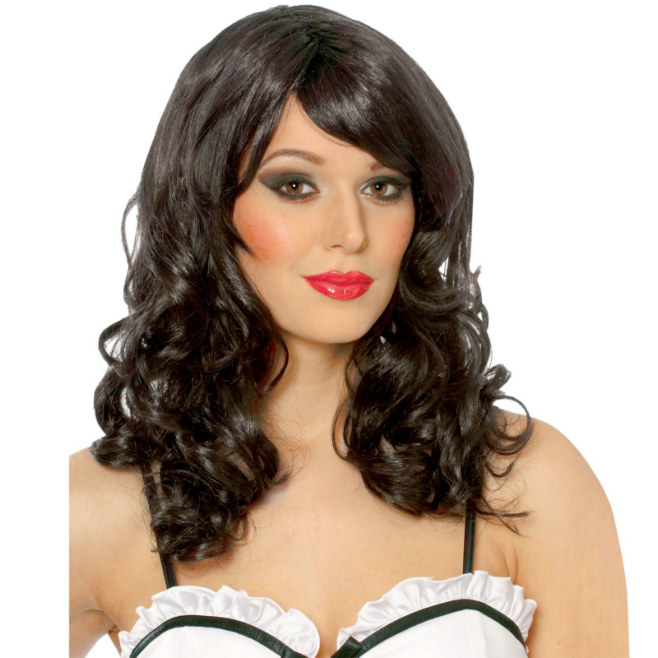 Lolita (Black) Wig - Click Image to Close